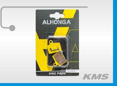 """Колодки для дискового тормоза """"Alhonga"""" HJ-DS40"""