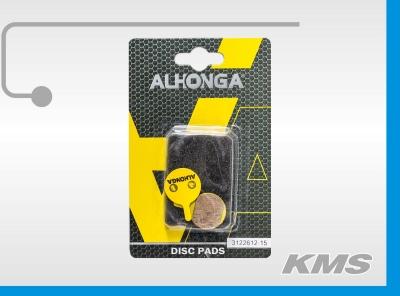 """Колодки для дискового тормоза """"Alhonga"""" HJ-DS04"""