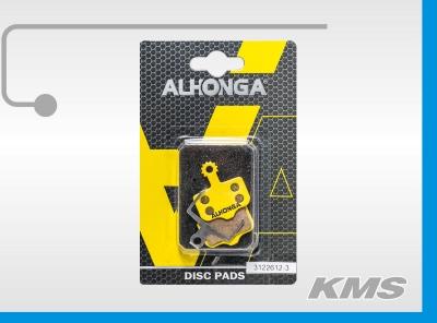 """Колодки для дискового тормоза """"Alhonga"""""""