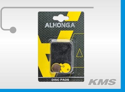 """Колодки для дискового тормоза """"Alhonga"""" HJ-DS23"""
