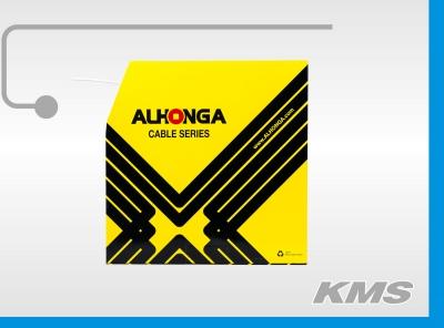 """Оплетка тормозного троса """"Alhonga"""", толщина 5мм, витое сечение"""