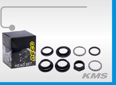"""Рулевой набор с подшипниками """"Neco"""" H800K, """"Китайский стандарт"""""""