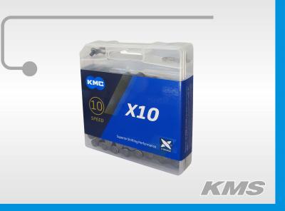 """Цепь """"KMC"""" Х10, 116 зв."""