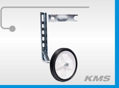 Дополнительное колесо пластиковое, универсальный кронштейн, 3мм