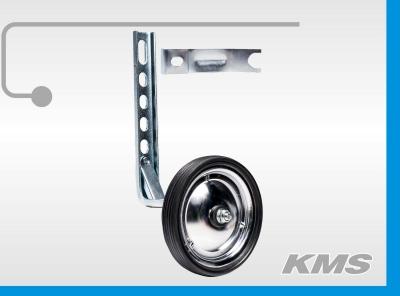 Дополнительное колесо металлическое, универсальный кронштейн 2,5мм