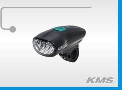 """Фара велосипедная, JY-822С (4 диода), """"KMS"""""""
