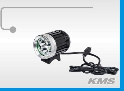 """Фара LED, передняя, алюминиевая, 3600 люмен, с акб 8.4V, 3 режима работы """"KMS"""""""