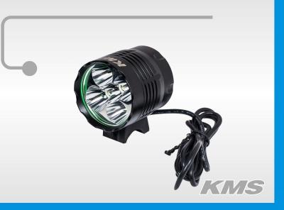 """Фара LED, передняя, алюминиевая, 5600 люмен, с акб 8.4V, 3 режима работы, """"KMS"""""""