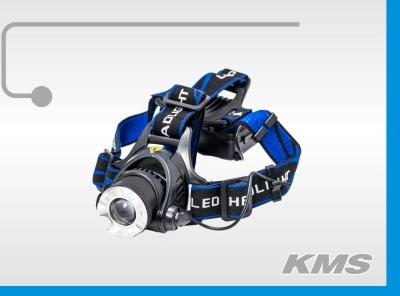 "Фара LED, с креплением на голову, 3W, ""KMS"""