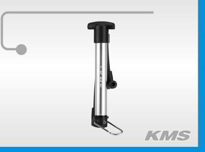"""Насос """"KMS"""", мини, алюминиевый, ручной, AV/FV, с подножкой, инд. упак KMS."""