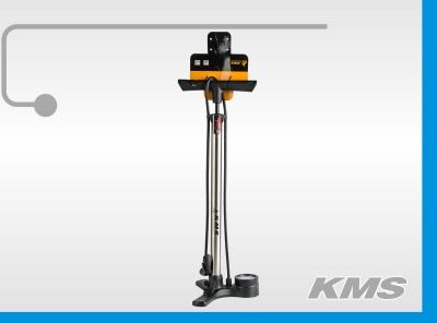 Насос ручной KMS, алюминиевый, напольный, с манометром, AV/FV, инд. упак. KMS