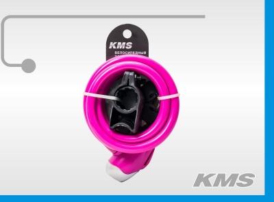 "Велозамок ""KMS"", трос Ø 12х1500, инд. упак., модель 2016 года"