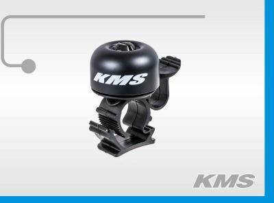 """Звонок для велосипеда """"KMS"""", медный, большой"""