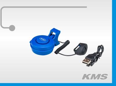 Звонок супер резкий звук, cо встроенным аккумулятором, с зарядкой USB.
