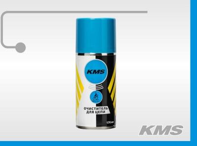 """Универсальный очиститель цепи, аэрозоль (баллон 170мл.) """"KMS"""""""