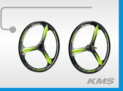 """Комплект 24"""" алюминиевых дисков для велосипеда (передний+задний), втулки и оси в комплекте"""
