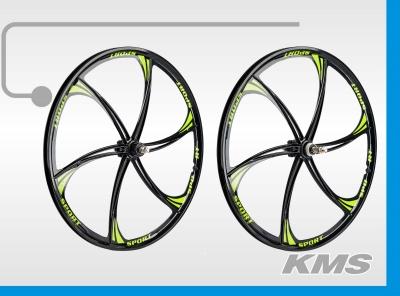 """Комплект 26"""" алюминиевых дисков для велосипеда (передний+задний), втулки и оси в комплекте"""
