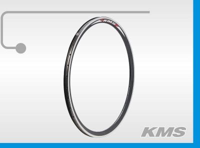 Обод 20x1,75-2,125 14G*36H алюминиевый двойной черный, KMS Lite
